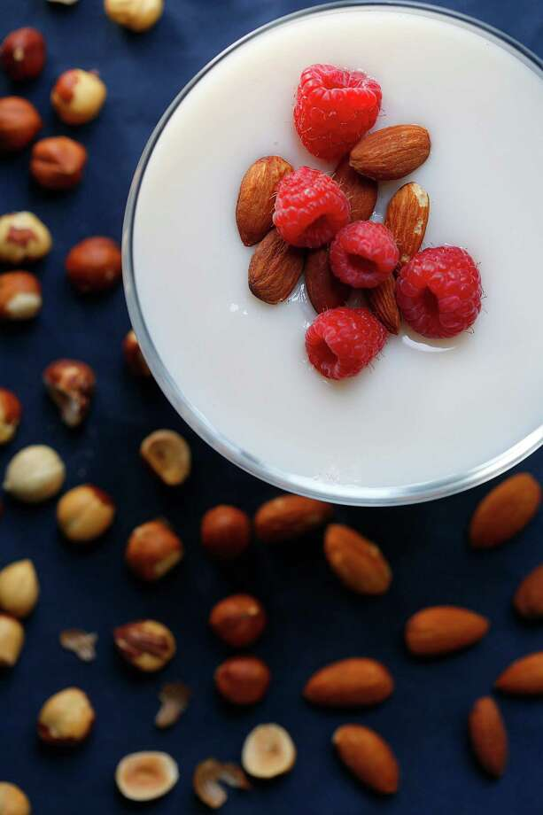 Nut Milk Panna Cotta Photo: Liz Hafalia, Staff / ONLINE_YES