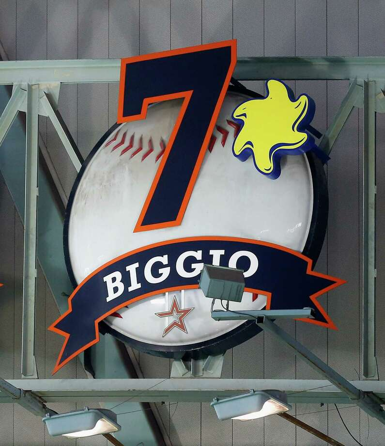 Attendance is up at Minute Maid Park thanks to a winning season and special giveaways marking the induction of former Astro Craig Biggio into the Hall of Fame. Photo: Bob Levey, Stringer / 2015 Getty Images