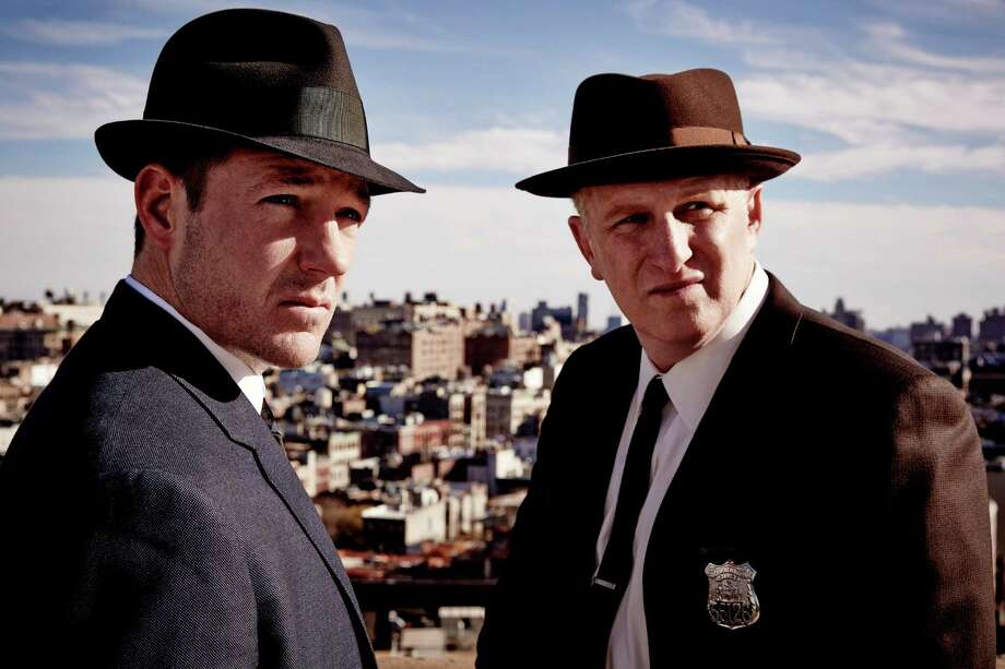 """Edward Burns, left, and Michael Rapaport star in """"Public Morals."""""""