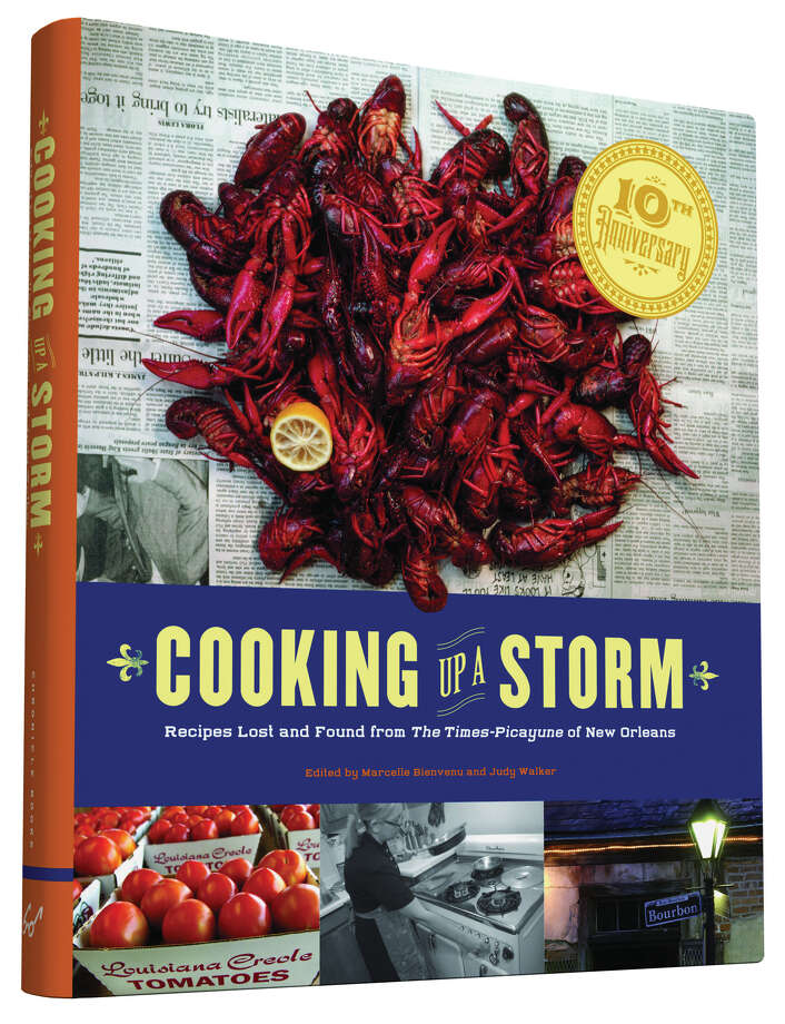 """Cover: """"Cooking Up a Storm: Recipes Lost and Found from The Times-Picayune of New Orleans"""" edited by Marcelle Bienvenu and Judy Walker (Chronicle Books, $30). Photo: Chronicle Books"""