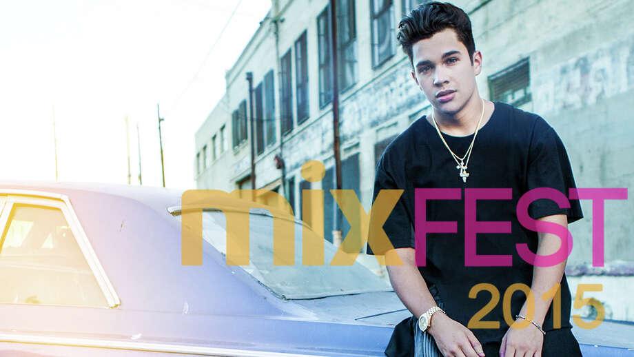 Austin Mahone will headline MixFest 2015. Photo: Courtesy, Tobin Center
