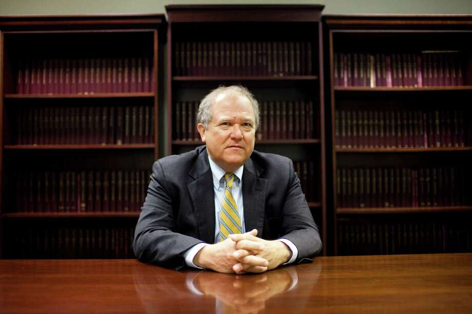 FILE-- John Sopko, the special inspector general for reconstruction in Afghanistan, at his office in Arlington, Va., July 22, 2013. Sopko, 63, has been praised as a model for identifying waste and corruption but criticized for having a taste for publicity. Government watchdog reports typically have a dry, understated tone. But Sopko has been blunt in his assessment of waste and fraud, naming individuals in his reports, which other inspector generals rarely do. (Christopher Gregory/The New York Times) Photo: CHRISTOPHER GREGORY, STF / NYTNS