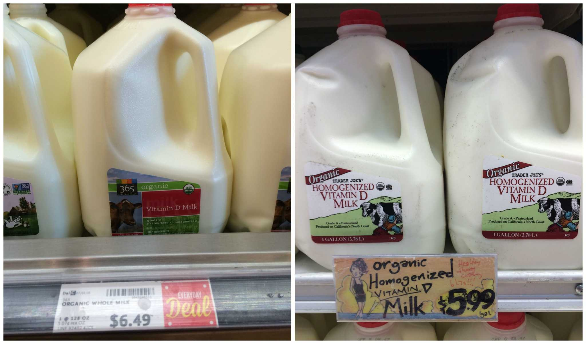 Whole Foods Vs Trader Joe S A Price Comparison Of