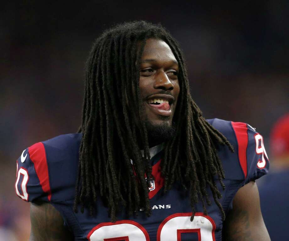 The Texans hope to have outside linebacker Jadeveon Clowney back from microfracture knee surgery for the season opener on Sept. 13. Photo: Karen Warren, Staff / © 2015 Houston Chronicle