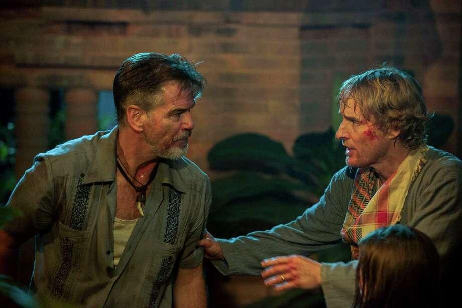 "Owen Wilson and Pierce Brosnan star in ""No Escape."" (Rolan Neveu/The Weinstein Company) Photo: Roland Neveu/Weinstein Company, HO / TNS"