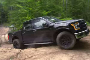 Ford takes the all-new Ford F-150 Raptor to the muddy trails for a test run - Photo