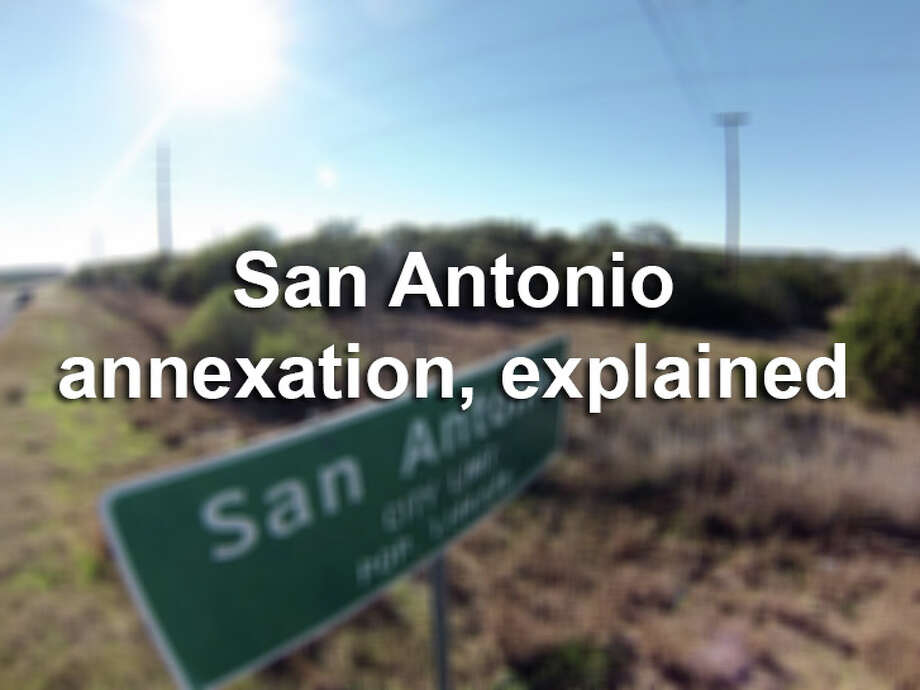Click through the slideshow for 13 things to know about the city's plans for annexation. /  San Antonio Express-News