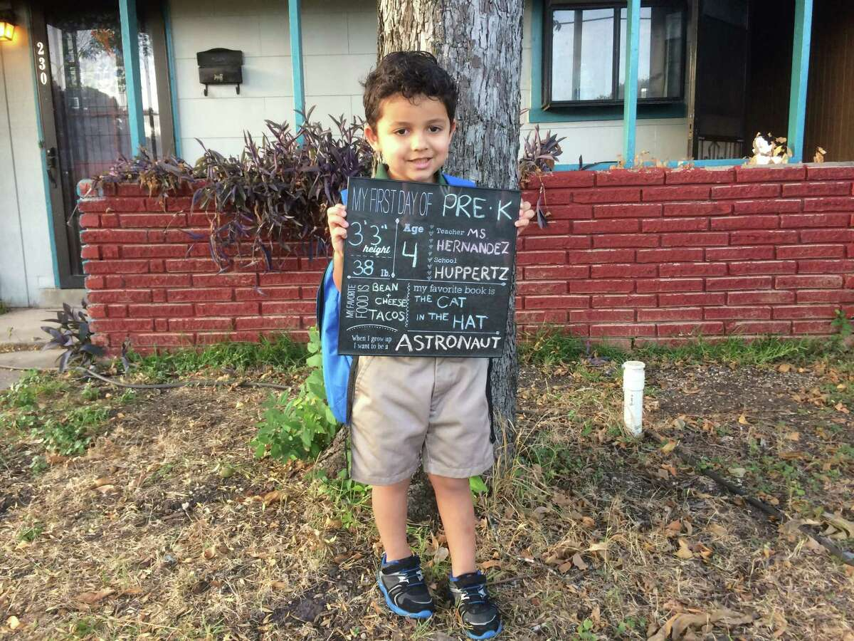 Ari's 1st Day of PreK
