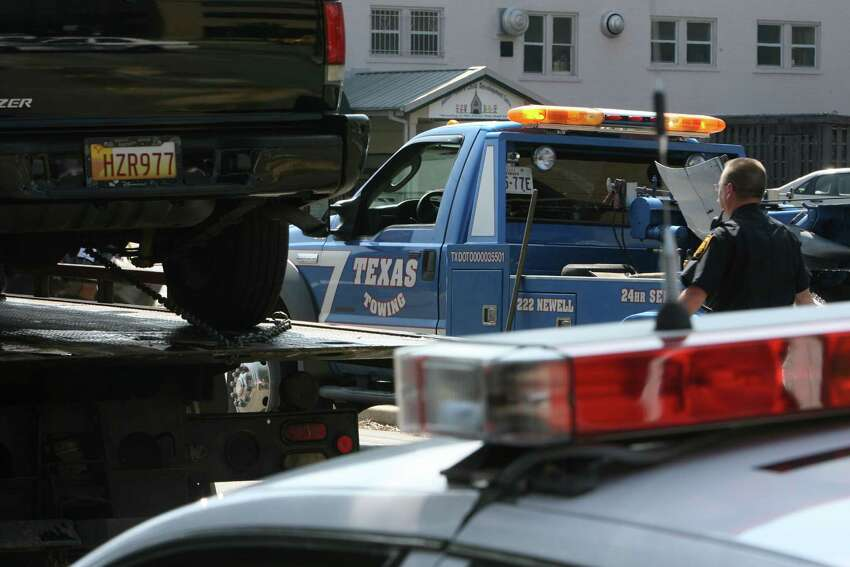 1. If my car's being towed but isn't fully hooked up to the tow truck, can I prevent it from being towed? Yes: theTexas Department of Licensing and Regulation says,