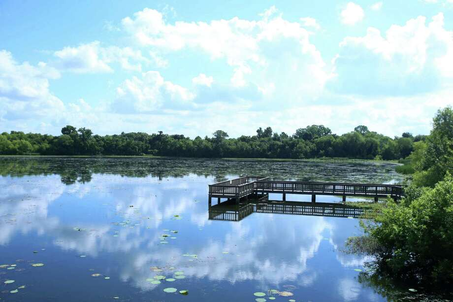 Cullinan Park, which includes White Lake and a boardwalk, will fall under the city of Sugar Land's jurisdiction through an agreement with the city of Houston.  Cullinan Park, which includes White Lake and a boardwalk, will fall under the city of Sugar Land's jurisdiction through an agreement with the city of Houston. Photo: Dylan Aguilar, Staff / © 2015 Houston Chronicle