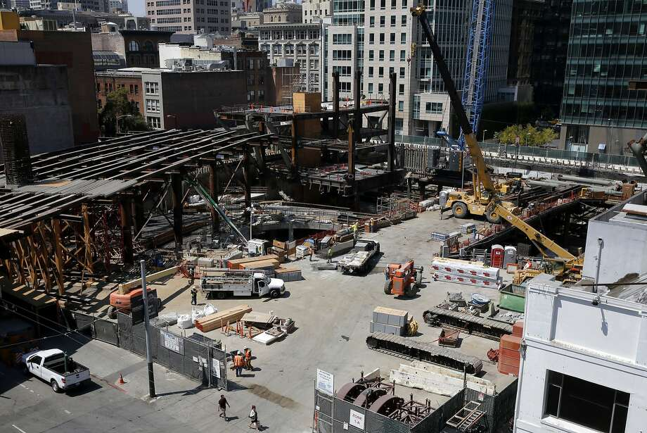 The development site on Howard Street near Second Street in San Francisco, California, on Tuesday, Aug. 25, 2015. Photo: Connor Radnovich, The Chronicle