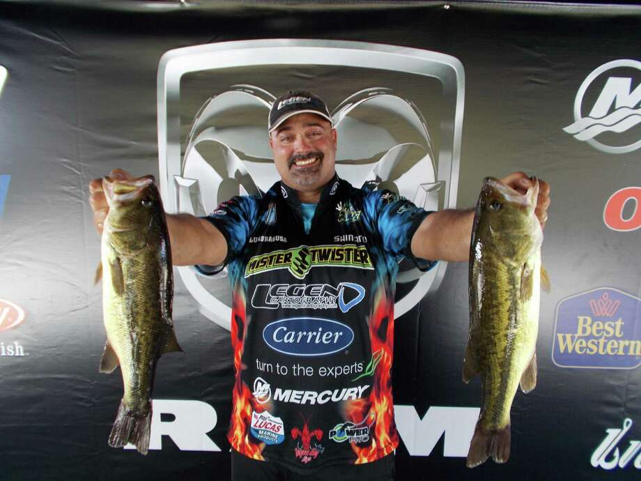 Lucas J. Ragusa of Gonzales, LA won 1st place in the boater division with a two-day limit of 20.06 pounds