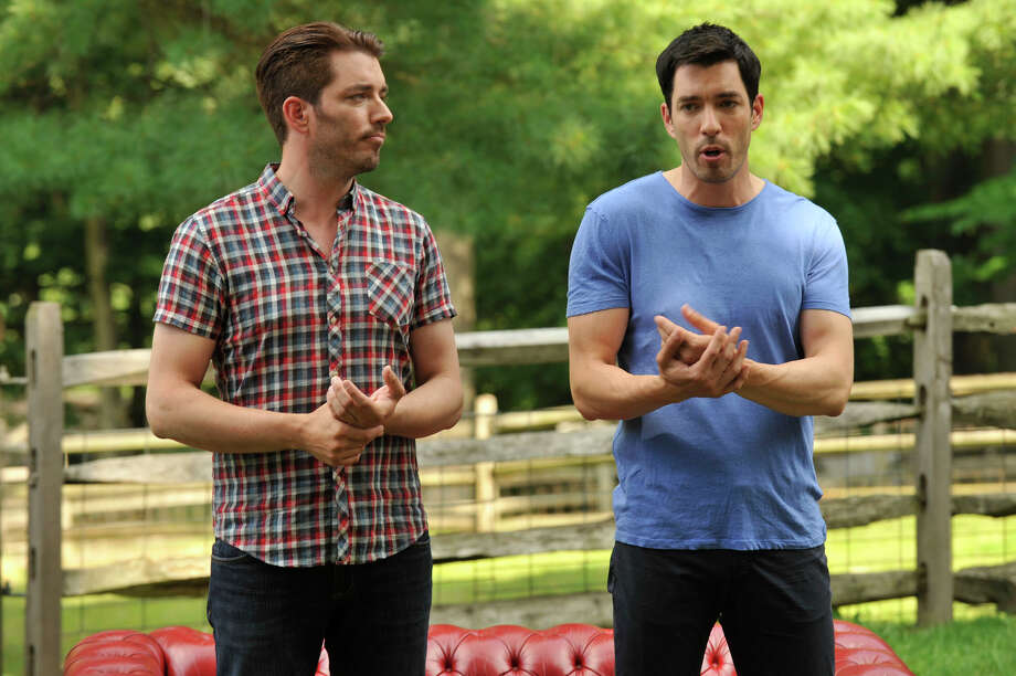 In April the Property Brothers filmed a home renovation in Danbury, which brought the home's listing price from $289,000 to $325,000. Click here to see before and after photos of the house.  Photo: Jason Rearick, Hearst Connecticut Media / Stamford Advocate