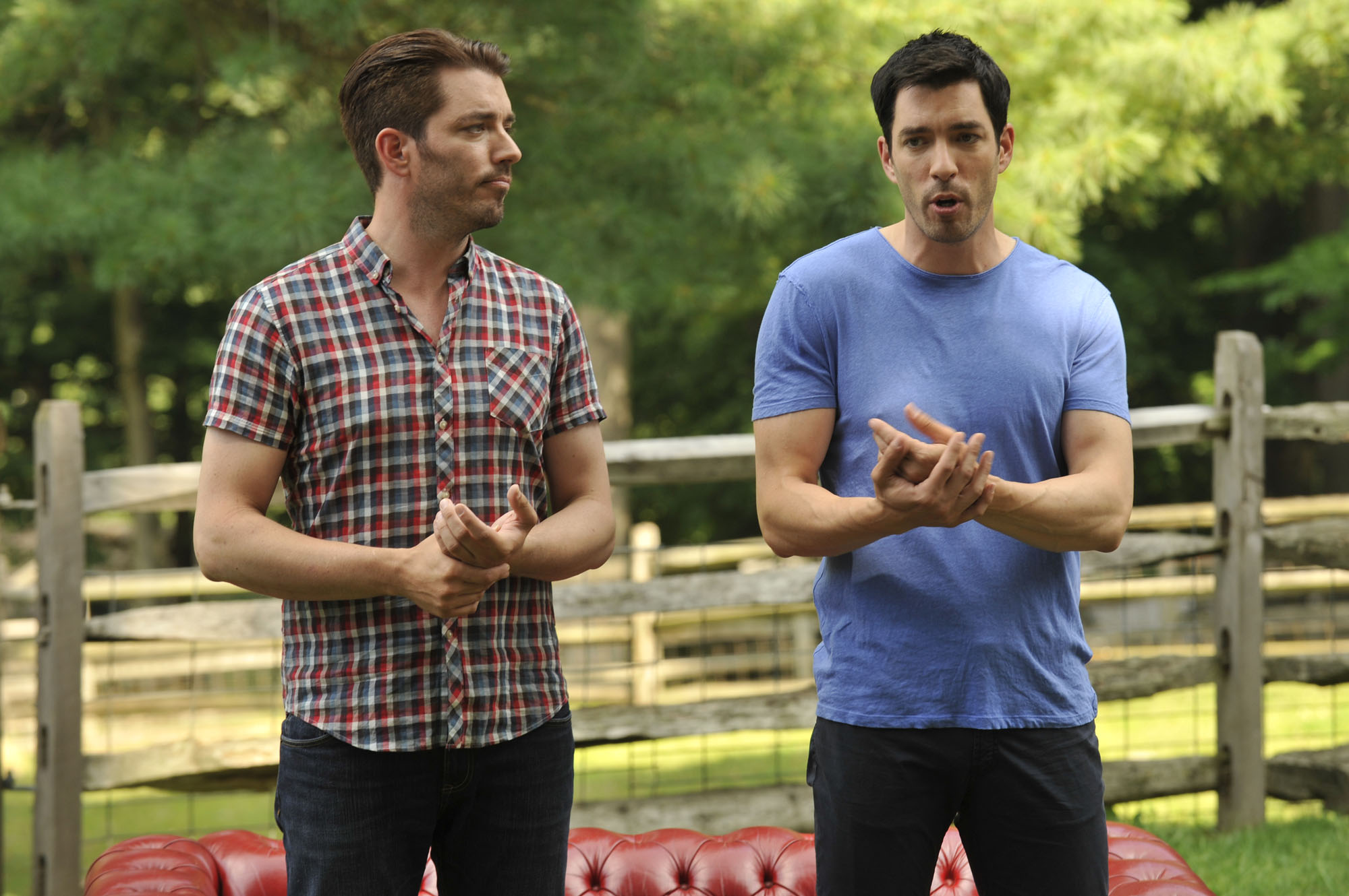 The property brothers are coming back to fairfield county Who are the property brothers