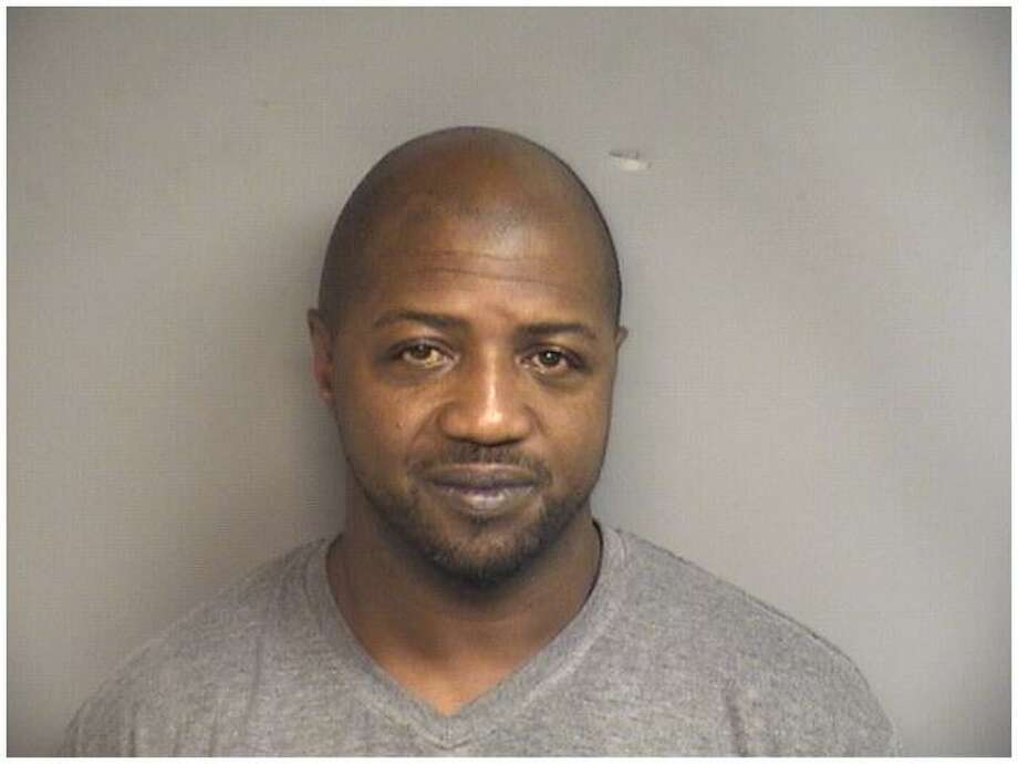 Otis Linton, 44, of High Street, Stamford, was charged with choking his girlfriend in July. Photo: Stamford Police Department / Contributed Photo / Stamford Advocate Contributed