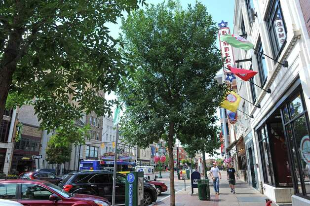 State Street downtown on Wednesday Aug. 5, 2015 in Schenectady, N.Y. (Michael P. Farrell/Times Union) Photo: Michael P. Farrell / 10032915A
