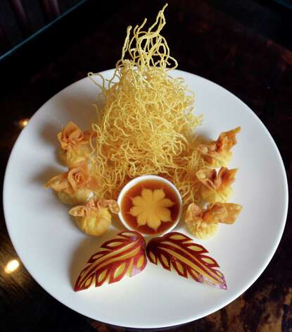 Crispy Crab dish at the Thai Thai bistro at 268 State Street Thursday afternoon May 22, 2014 in Schenectady, N.Y.    (Skip Dickstein / Times Union) Photo: SKIP DICKSTEIN / 00027019A
