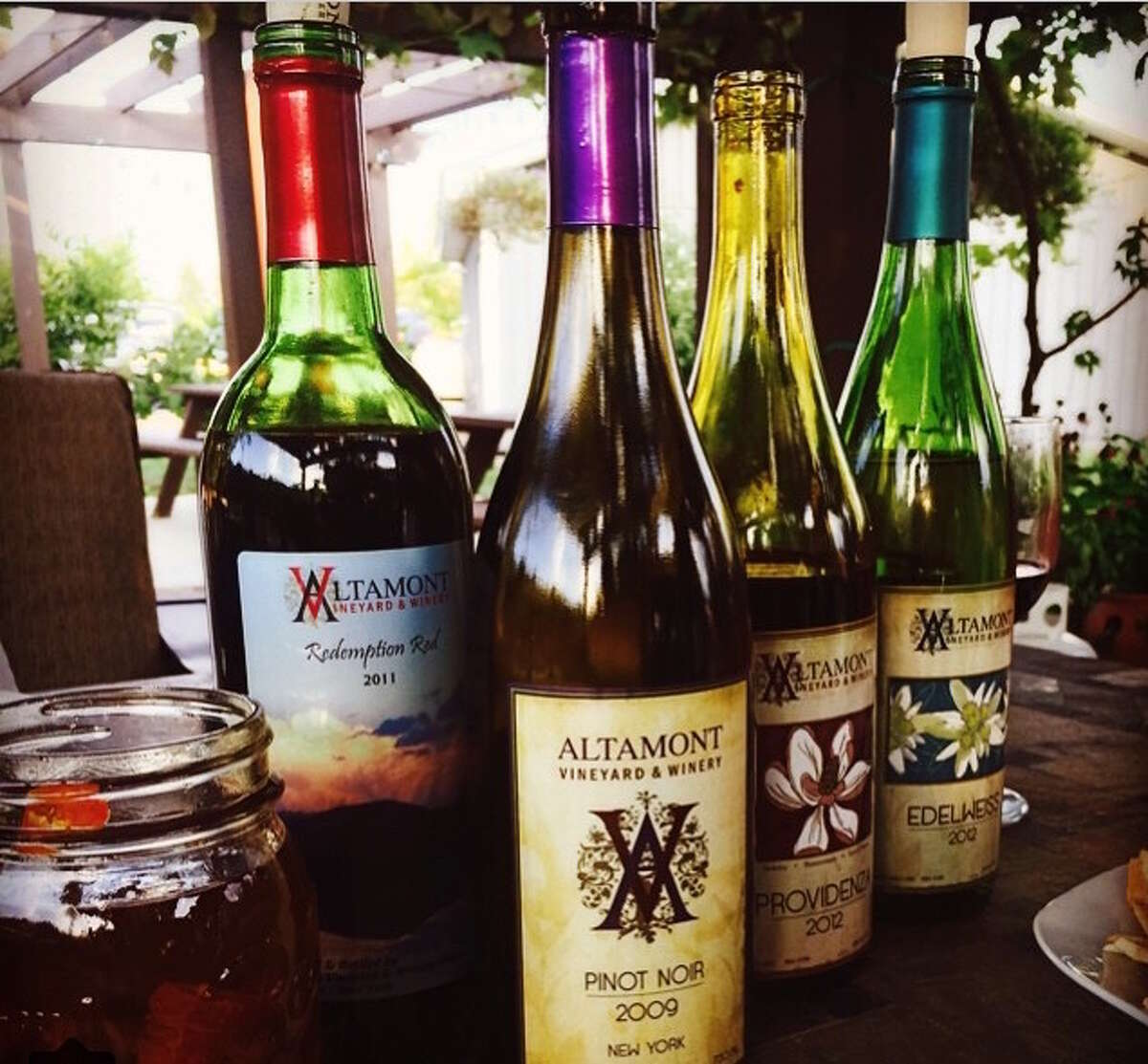 Altamont Vineyard and Winery  Location: Altamont