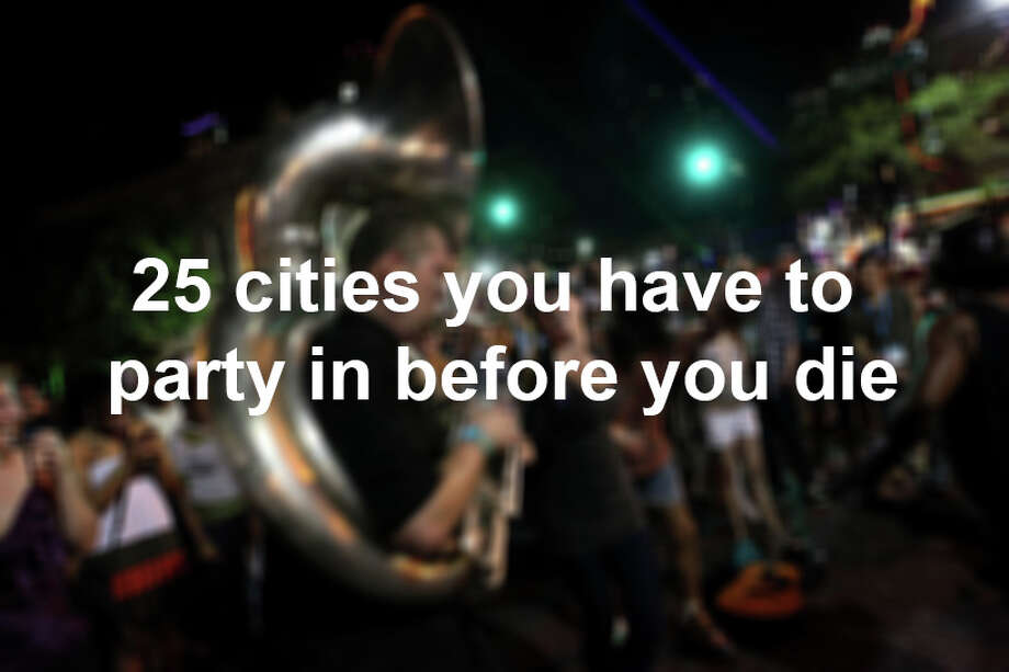 """Those partyers looking to """"turn up"""" across the globe now have a resource available for clearing out their to-do list.  Business Insider compiled the 25 best places to party, featuring spots in the U.S. such as Austin and Las Vegas, as well as international spots such as Milan, Munich and Ibiza. Photo: Kitra Cahana, Getty Images / 2012 Kitra Cahana"""