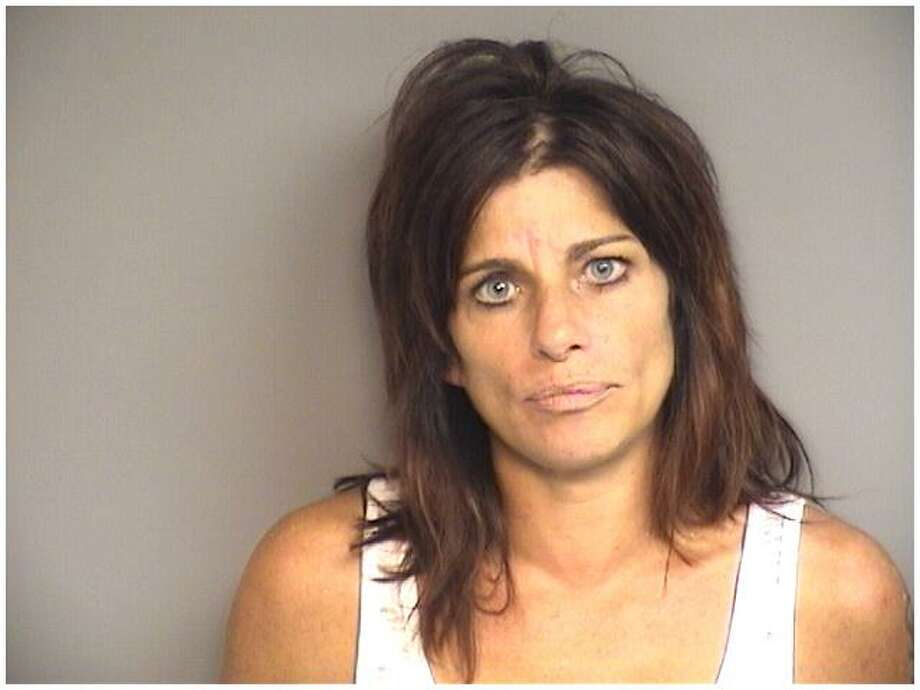 Joanne Fusco, 45, of Stamford, was arrested Monday night for driving under the influence after nearly hitting a bus on Upland Road. Photo: Stamford Police Department / Contributed Photo / Stamford Advocate Contributed