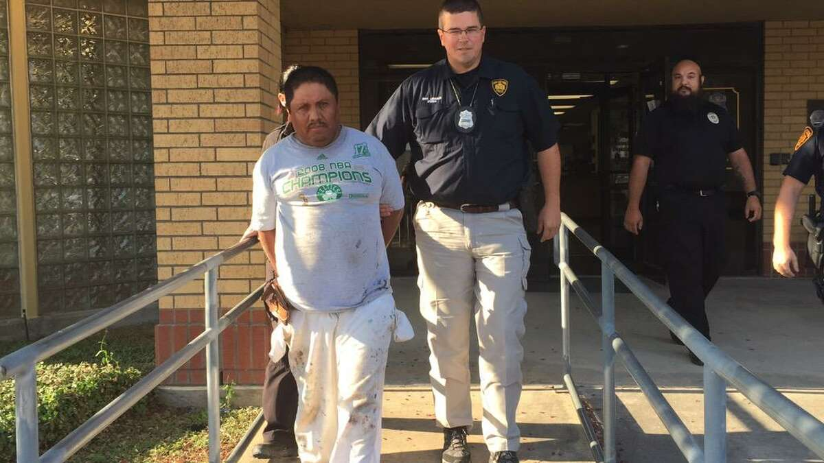 Ignacio Sanchez Alvarez, 45, was taken into custody at the home Rosie, a pit bull who was burned with acid, was discovered on the Southeast Side, said Audra Houghton, Animal Care Services Field Operations Supervisor.