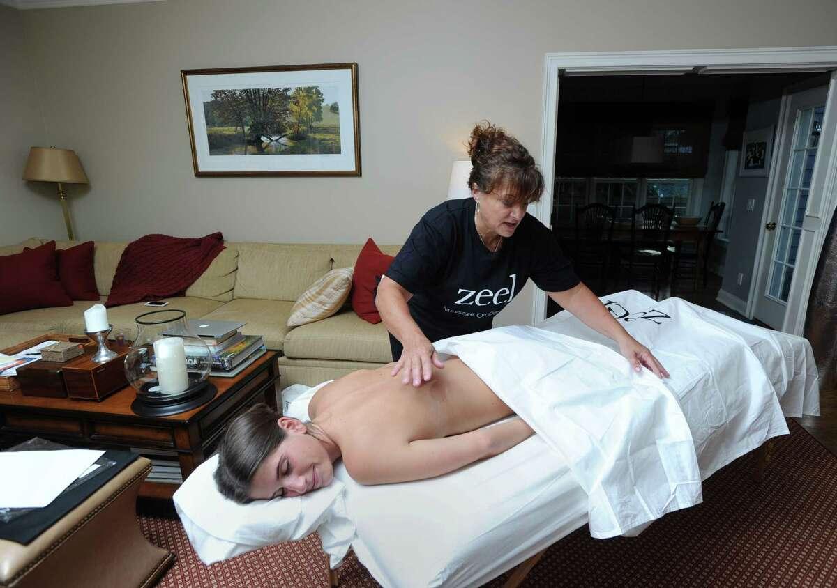10. Massage therapist Median salary: $28,040 Work-life balance: Above average Stress level: Below average