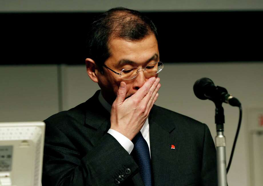 FILE - In this Thursday, June 25, 2015, file photo, Japanese seat belt and air-bag maker Takata Corp. Chairman and CEO Shigehisa Takada gestures during a news conference regarding the expanding recall of his company's air bags in Tokyo. The 2015 American Consumer Satisfaction Index found that satisfaction with automobiles dropped for the third straight year to the lowest level since 2004. Last year automakers recalled a record 64 million vehicles for problems such as exploding air bags, including Takata air bags. (AP Photo/Shuji Kajiyama, File) ORG XMIT: NY107 Photo: Shuji Kajiyama / AP