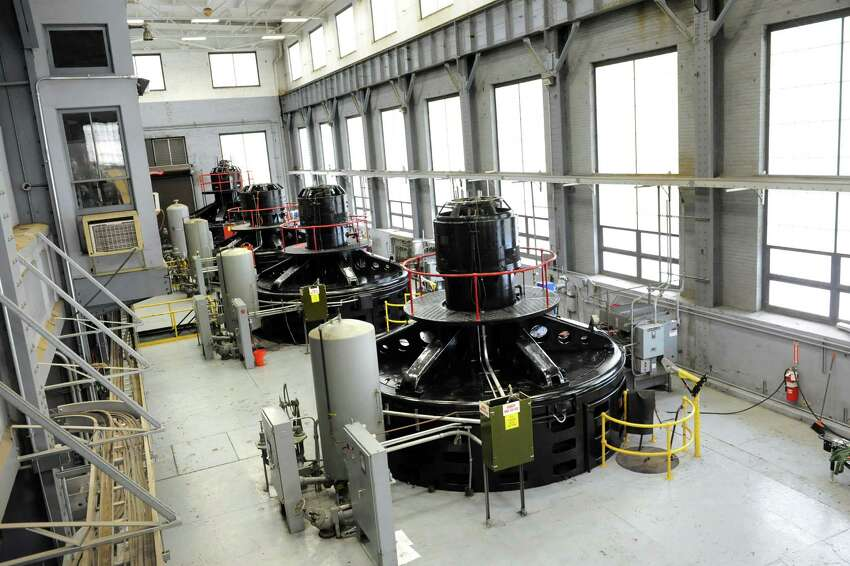 Power equipment on Tuesday, Aug. 25, 2015, at the School Street Hydroelectric Facility in Cohoes, N.Y. (Cindy Schultz / Times Union)