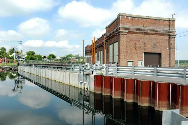The School Street Hydroelectric Facility on Tuesday, Aug. 25, 2015, in Cohoes, N.Y. (Cindy Schultz / Times Union) Photo: Cindy Schultz / 00033097A