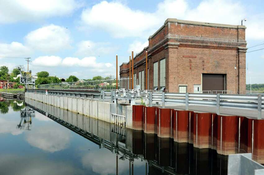 The School Street Hydroelectric Facility on Tuesday, Aug. 25, 2015, in Cohoes, N.Y. (Cindy Schultz / Times Union)