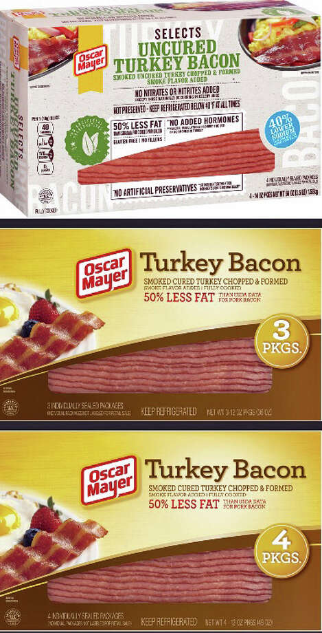 Among the turkey bacon products that are being recalled. Photo: U.S. Department Of Agriculture's Food Safety And Inspection Service Photo.