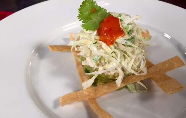 Schiller Del Grande Restaurant GroupCafe Annie Where:1800 Post Oak  Photo: Crab and avocado tostada
