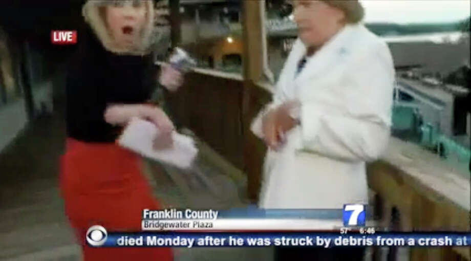 Two news crew members from WDBJ were shot and killed on live location shoot in Franklin County in central Virginia on Wednesday morning, August 26, 2015. Photo: WDBJ-7