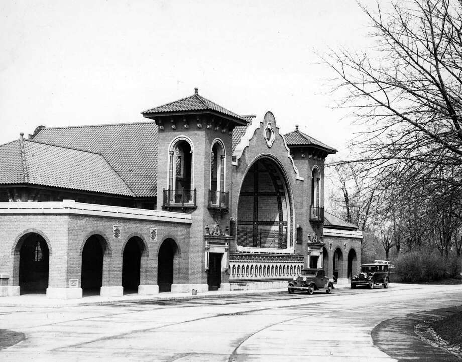 Washington Park Lakehouse, April 28, 1934, in Albany, N.Y. It was completed in 1929. (Times Union archive)