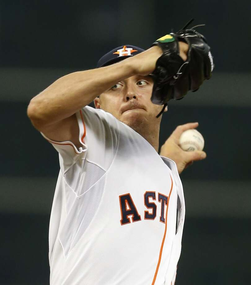 20. Scott Kazmir tradeThe Astros acquired Scott Kazmir from the A's on July 23, showing their willingness to add to the payroll at the trade deadline to compete down the pennant stretch. Photo: Karen Warren, Houston Chronicle