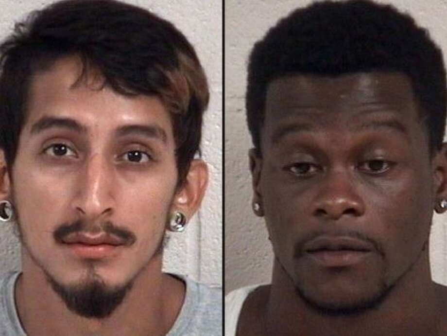Suspects Arthur Reyna, 22, and Damaren Francois, 23. Photo: Galveston Police Dept.