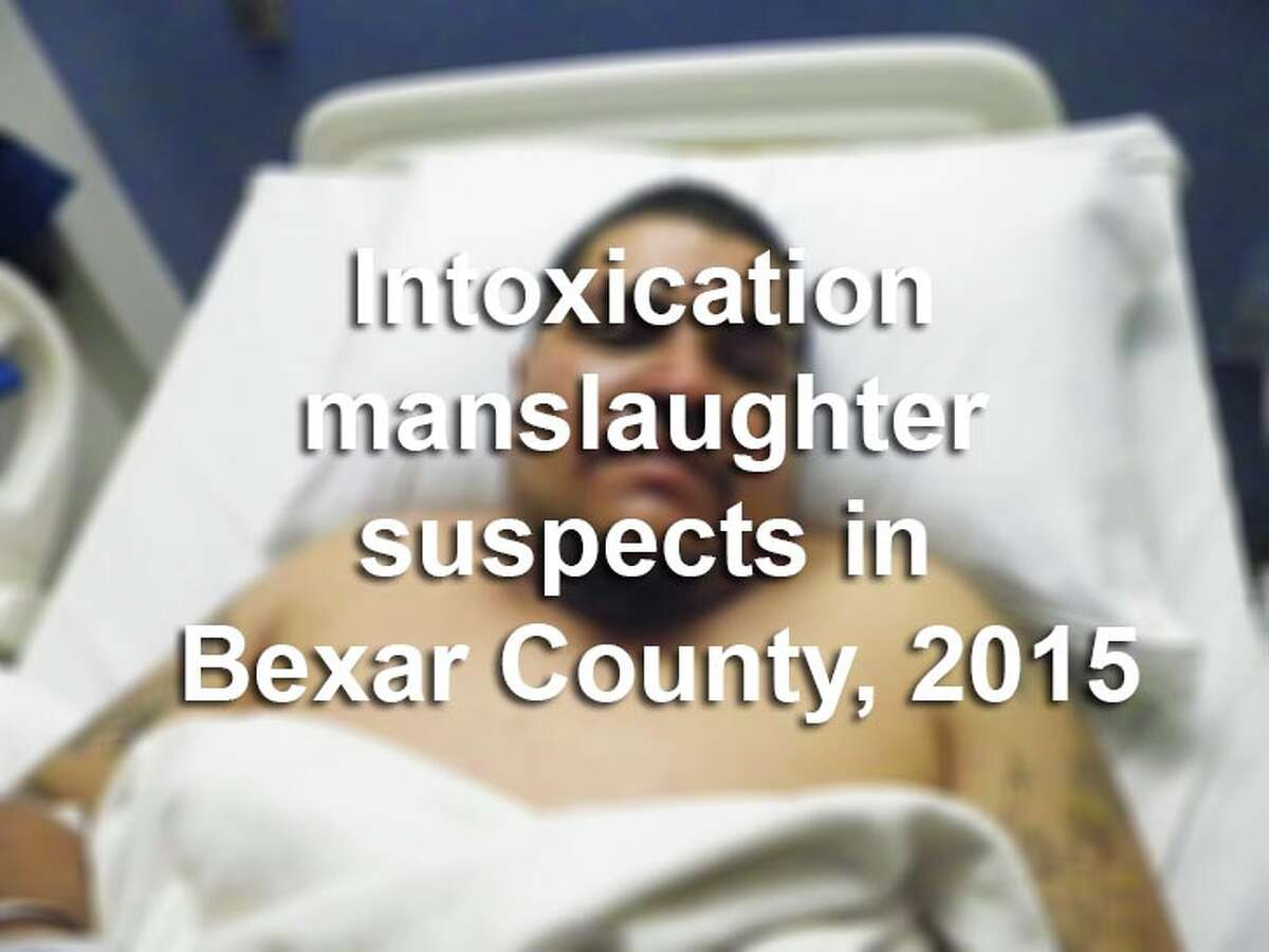 Eight people were charged with intoxication manslaughter in Bexar County in 2015. Scroll through the slideshow to see their mugshots.