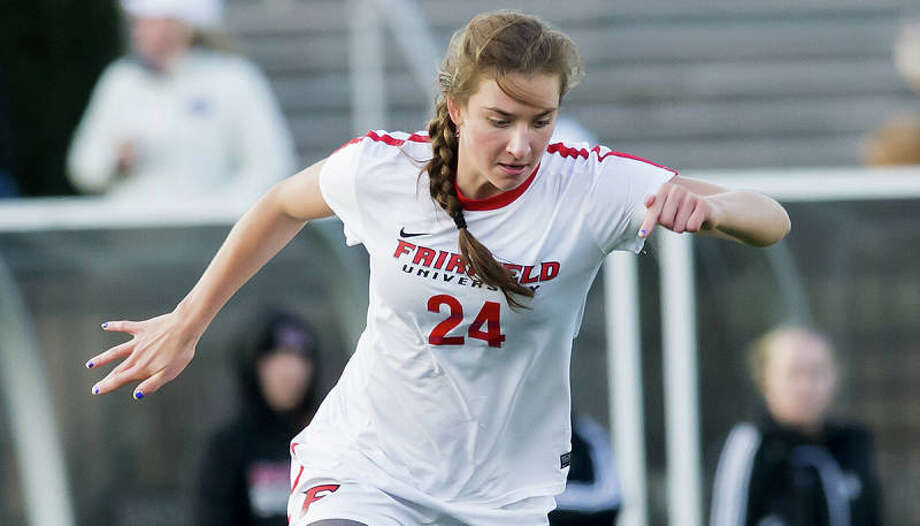 New Canaan's Anna Borea of Fairfield University was name to the preseason All-MAAC team. Photo: Contributed / New Canaan News
