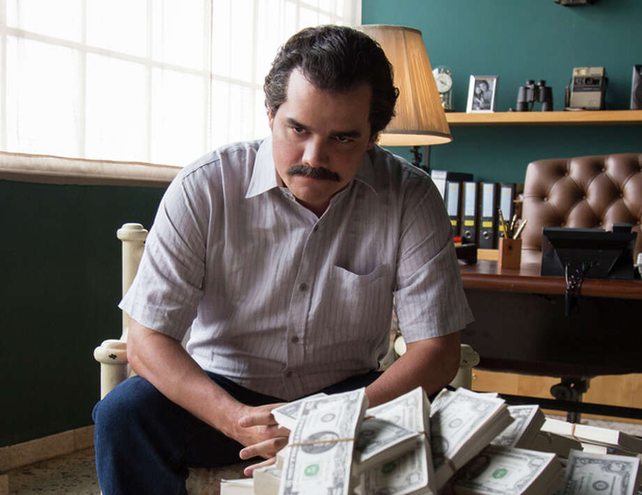 "Wagner Moura stars as Colombian drug lord Pablo Escobar in ""Narcos."" Photo: Daniel Daza / Daniel Daza / Netflix"