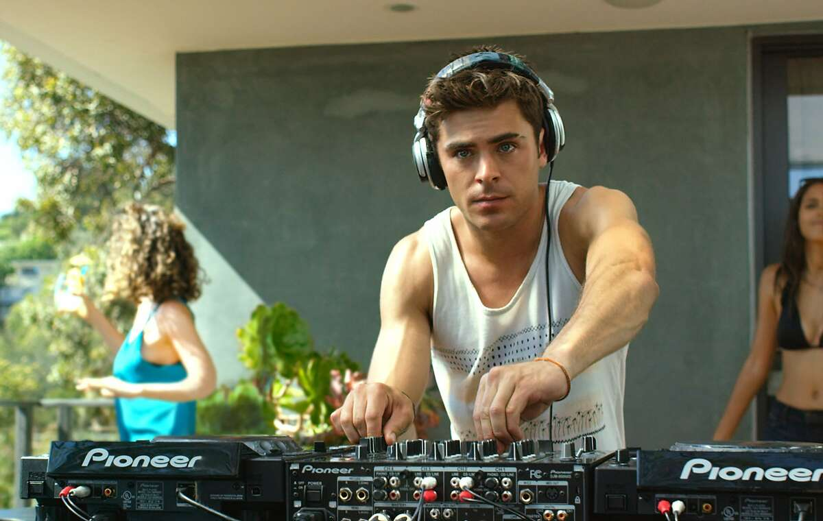 """This photo provided by Warner Bros. Pictures shows, Zac Efron in a scene from Warner Bros. Pictures' and Studiocanal's romantic drama, """"We are Your Friends."""" (Warner Bros. Entertainment via AP)"""
