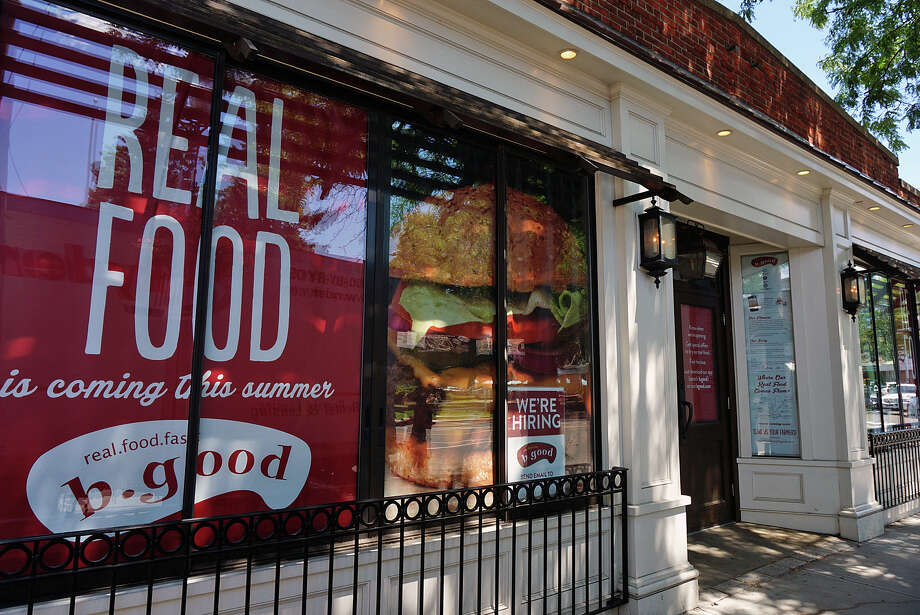 "With the slogan, ""real.food.fast.,"" b.good is set to open its second Connecticut location at the corner of Post and Sherman. Photo: Genevieve Reilly / Fairfield Citizen / Fairfield Citizen"
