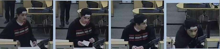 Mohannad Shehadeh robbed a San Mateo bank and was turned in by his father. Photo: San Mateo Police