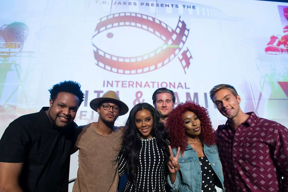 DALLAS, TX - AUGUST 22:  Jawn Murray, Romeo Miller, Angela Simmons, Luke Benward, Porscha Coleman and Austin North pose after the MegaFest Millennial Panel at The Omni Hotel Texas on August 22, 2015 in Dallas, Texas.  (Photo by Cooper Neill/Getty Images for MegaFest) Photo: Cooper Neill, Getty Images For MegaFest