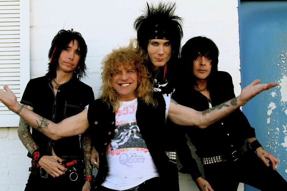 Adler, the band led by former Guns N' Roses drummer Steven Adler (front), will be doing a free concert at Mohegan Sun's Wolf Den on Friday, Aug. 28. Photo: Contributed Photo / Connecticut Post Contributed