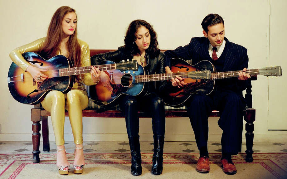 Kitty, Daisy and Lewis Durham, who go only by their first names on stage, will be playing one of their few U.S. tour stops at the Fairfield Theatre Company on Tuesday, Sept. 1 If you miss them there, they will be at Daryl's House Club in Pawling, N.Y., on Thursday, Sept. 3. Photo: Contributed Photo / Stamford Advocate Contributed
