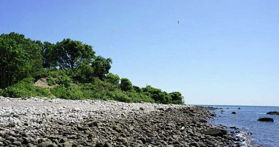 Cockenoe Island, pictured here, will be the destination of a company of kayakers on Saturday, Aug. 29, as part of a tour hosted by the Westport Historical Society. The 28-acre site sits off the shore of Westport. Photo: File Photo / Westport News