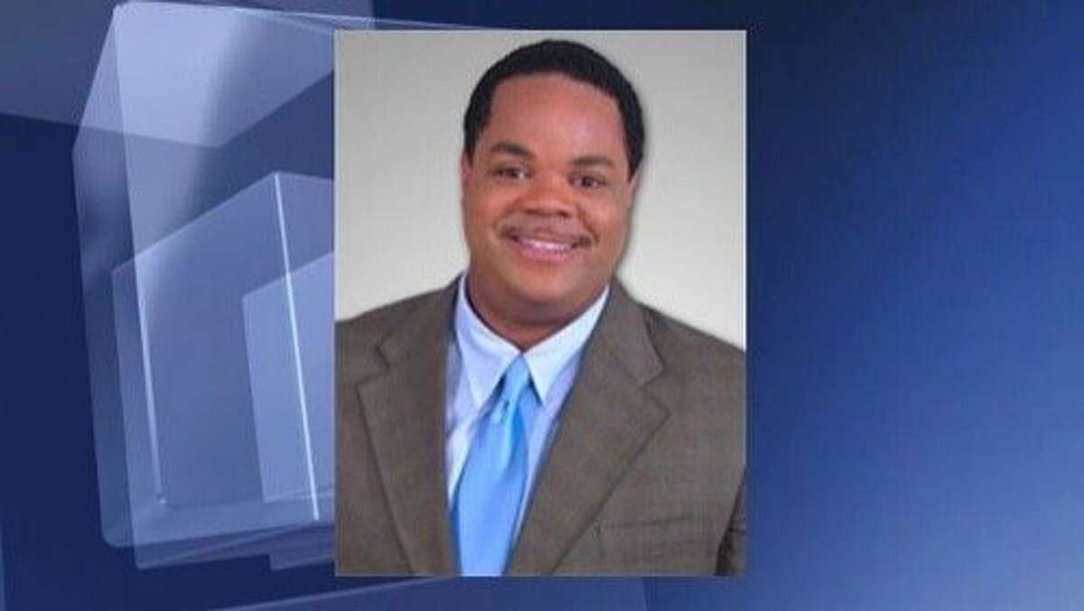 This undated photo provided by WDBJ-TV, shows Vester Lee Flanagan II, who killed WDBJ reporter Alison Parker and cameraman Adam Ward in Moneta, Va., Wednesday, Aug. 26, 2015. Flanagan was a former employee at WDBJ who appeared on air as Bryce Williams. (WDBJ-TV via AP) MANDATORY CREDIT