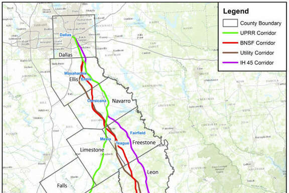 Focus Shifts To Stretching Bullet Train To Downtown Houston - Texas high speed rail map