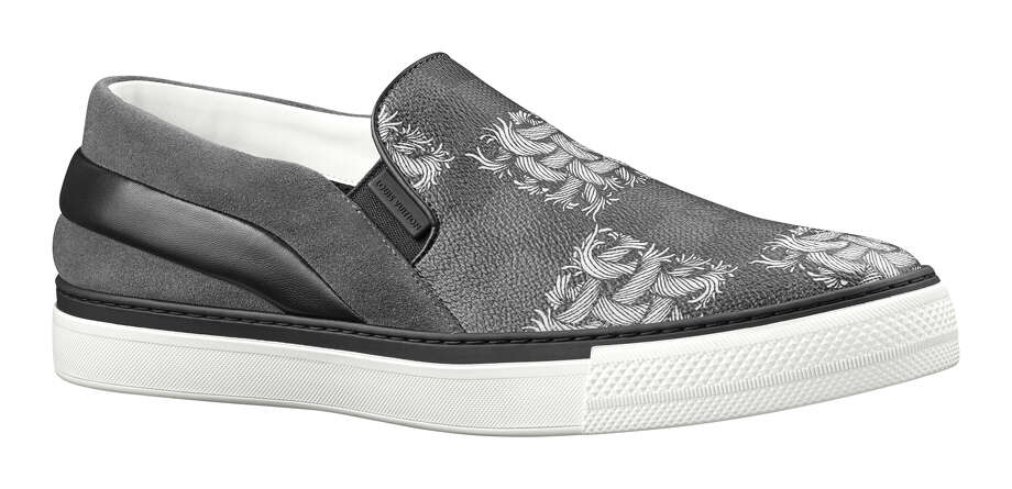 Twister Slip on Rope, Damier Graphite Suede; Photo courtesy of Louis Vuitton Photo: Louis Vuitton