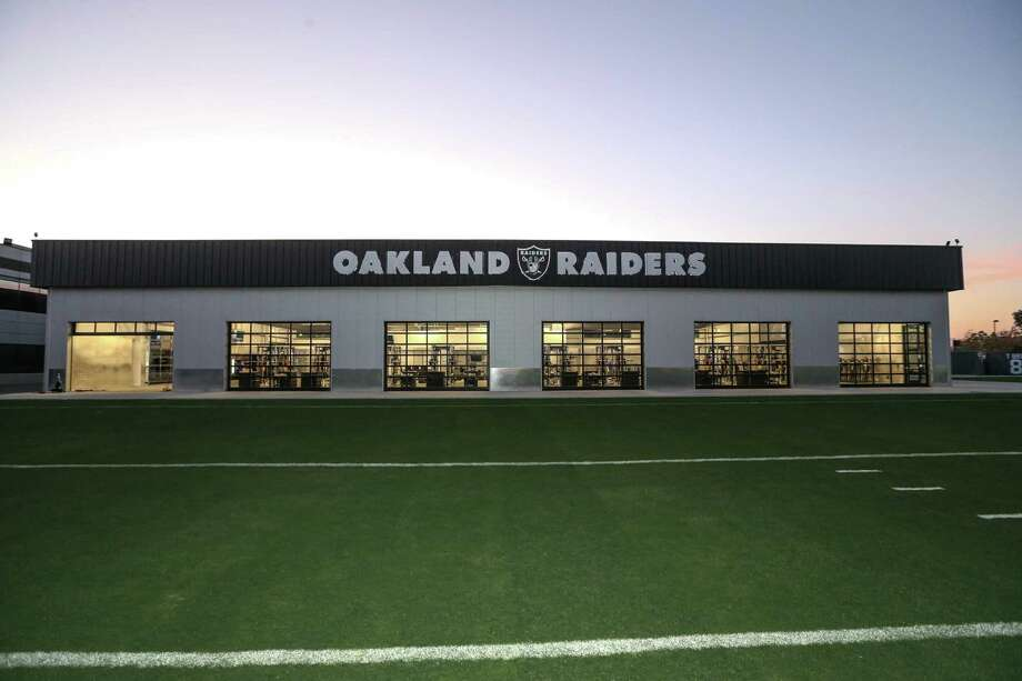 The Raiders moved into their high-performance center this week.
